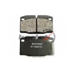 Колодки тормозные, комплект, передние (KORTEX) KT199STD