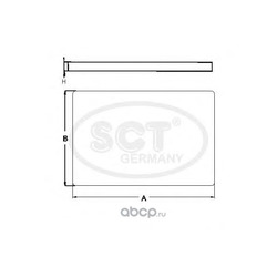 Фильтр салона (SCT) SA1178