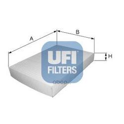 Фильтр, воздух во внутренном пространстве (UFI) 5309300