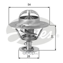 Термостат, охлаждающая жидкость (Gates) TH00782G1