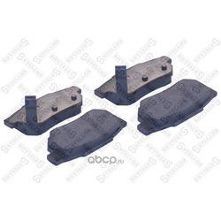 Комплект тормозных колодок, дисковый тормоз (Stellox) 244000SX
