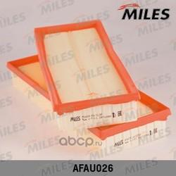 Фильтр воздушный MB W203-W221 2.3-5.0 (упак.2шт.) (Miles) AFAU026