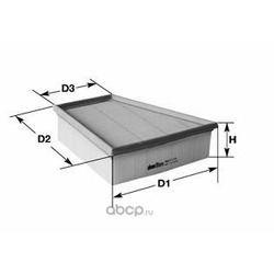 Воздушный фильтр (Clean filters) MA1162