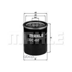 Масляный фильтр (Mahle/Knecht) OC495