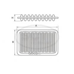 Воздушный фильтр (SCT) SB3249