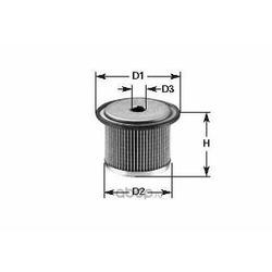 Топливный фильтр (Clean filters) MG1658