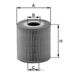 Масляный фильтр (UNIFLUX FILTERS) XOE140