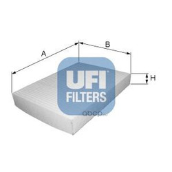 Фильтр, воздух во внутренном пространстве (UFI) 5304500
