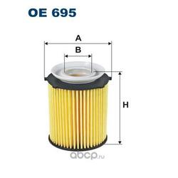 Масляный фильтр (Filtron) OE695