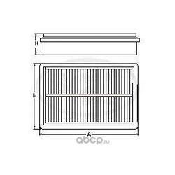 Воздушный фильтр (SCT) SB2159