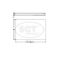 Фильтр салона (SCT) SA1198
