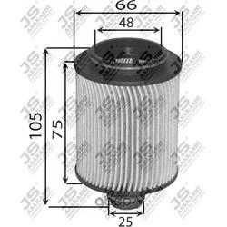Фильтр масляный элемент (JS Asakashi) OE0087