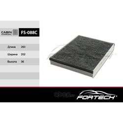 Фильтр салонный угольный (Fortech) FS088C