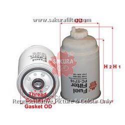 Фильтр топливный (Sakura) FC5716