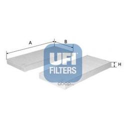Фильтр, воздух во внутренном пространстве (UFI) 5315400