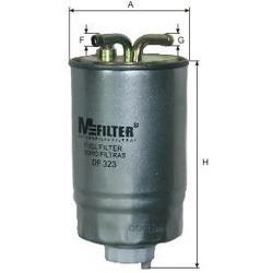 Фильтр топливный (M-Filter) DF323