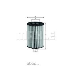 Масляный фильтр (Mahle/Knecht) OX382D