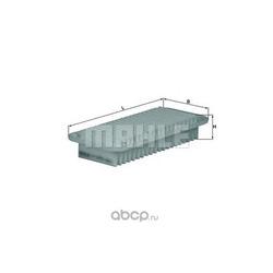Воздушный фильтр (Mahle/Knecht) LX1001