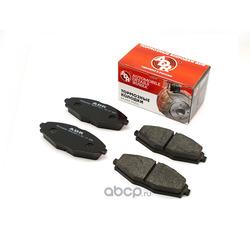 Колодки тормозные передние DAEWOO Nexia V8 R13, CHEVROLET Lanos, Spark OEM 96316582 (ADR) ADR290211