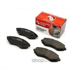 Колодки тормозные передние CHEVROLET Aveo, Kalos OEM 96534653 RESOURCE (ADR) ADR290511