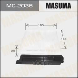 Фильтр салонный (Masuma) MC2036