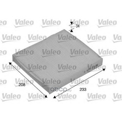 Фильтр, воздух во внутренном пространстве (Valeo) 715510