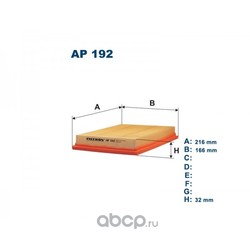 Фильтр воздушный Filtron (Filtron) AP192