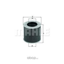 Масляный фильтр (Mahle/Knecht) OX414D1