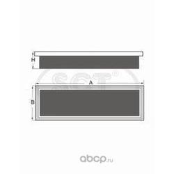 фильтр воздушный (SCT) SB2219