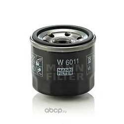 Масляный фильтр (MANN-FILTER) W6011