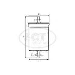 Топливный фильтр (SCT) ST321