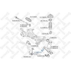 Подвеска, рычаг независимой подвески колеса (Stellox) 7700524SX