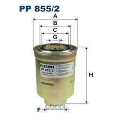 Топливный фильтр (Filtron) PP8552