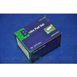 Комплект тормозных колодок (Parts-Mall) PKB039