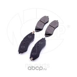 Колодки тормозные передние CHEVROLET LACETTI (NSP) NSP0196405129