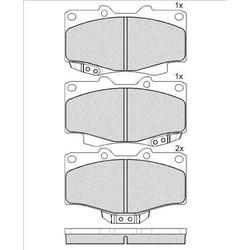Комплект тормозных колодок (Kashiyama) K2305