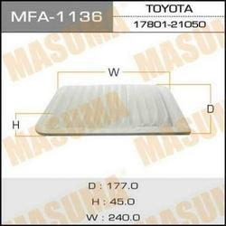 фильтр воздушный (Masuma) MASKITT2