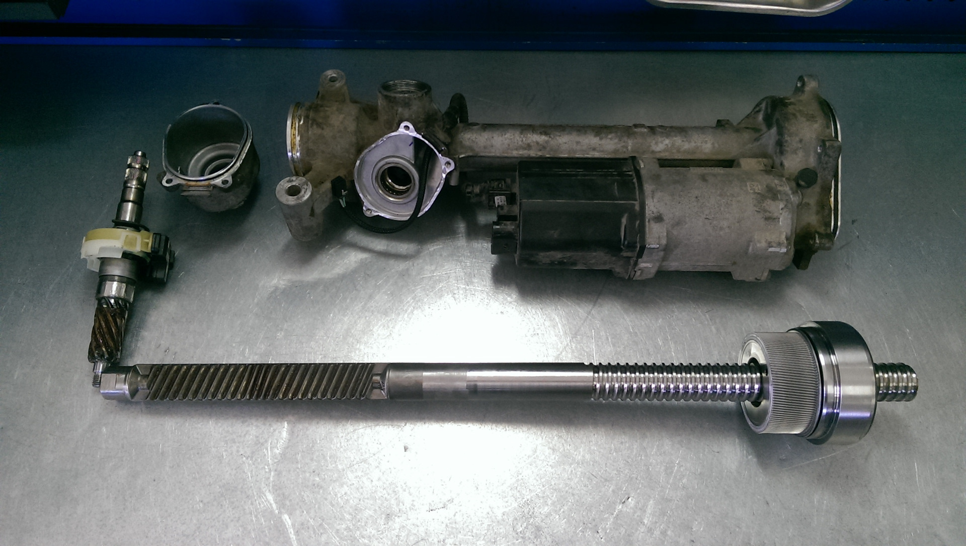 ремонт рулевых реек +в москве ювао