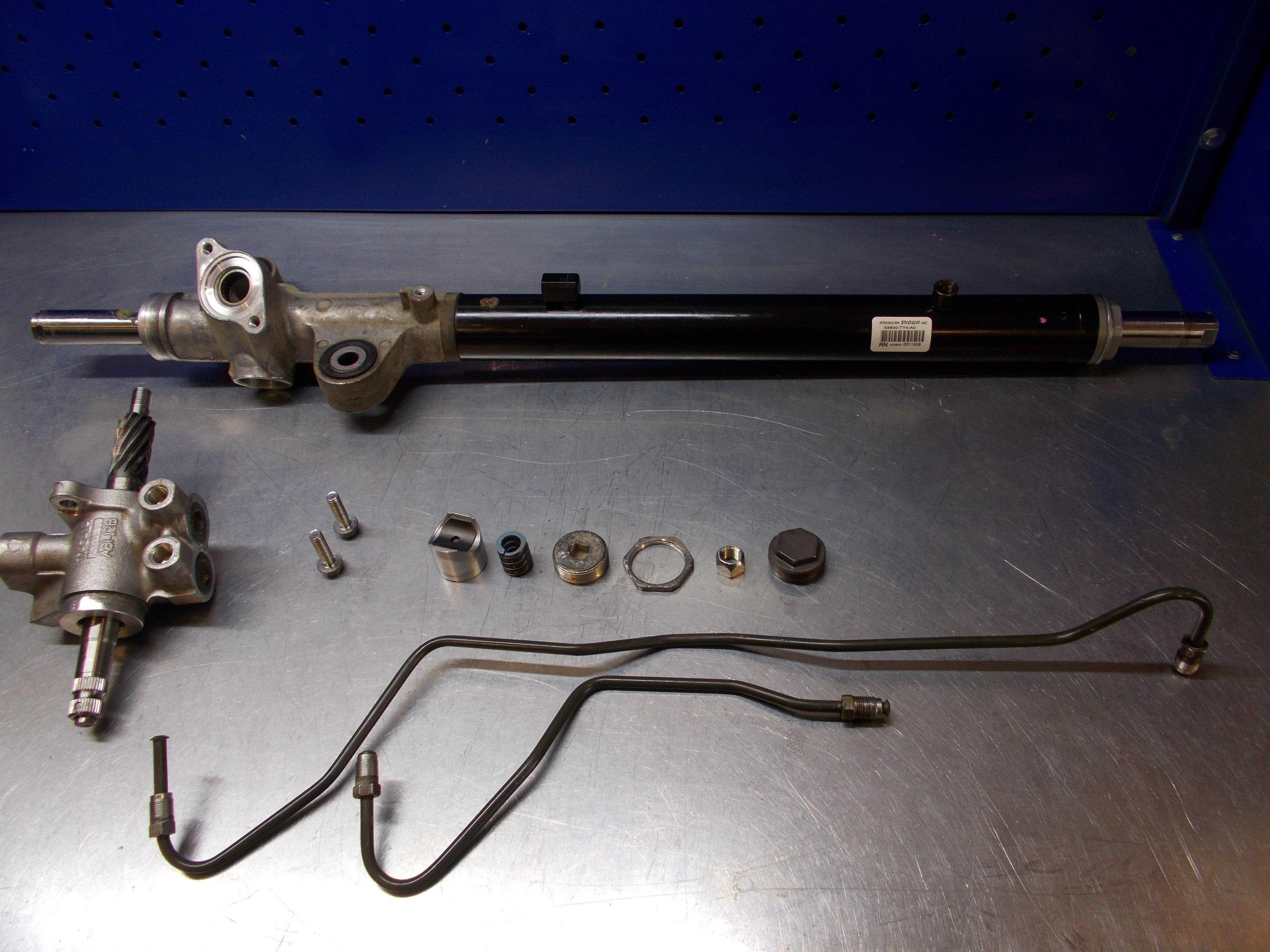ремонт рулевых реек +в москве Хонда